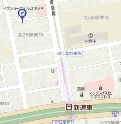 新道東地図