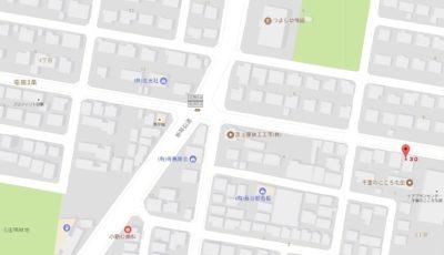 Y邸 地図
